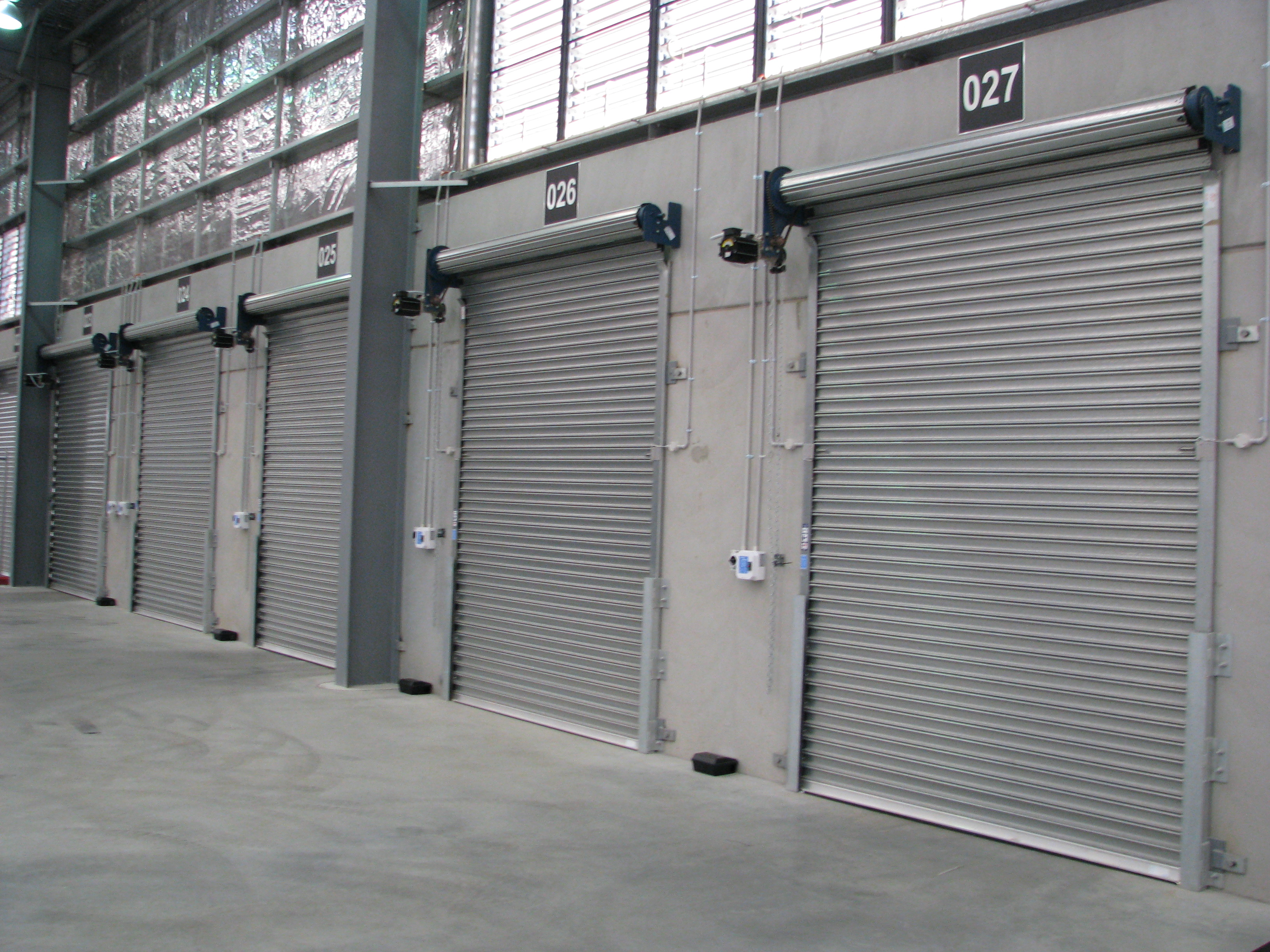S75 Steel Roller Shutters Low Cycle Mirage Doors