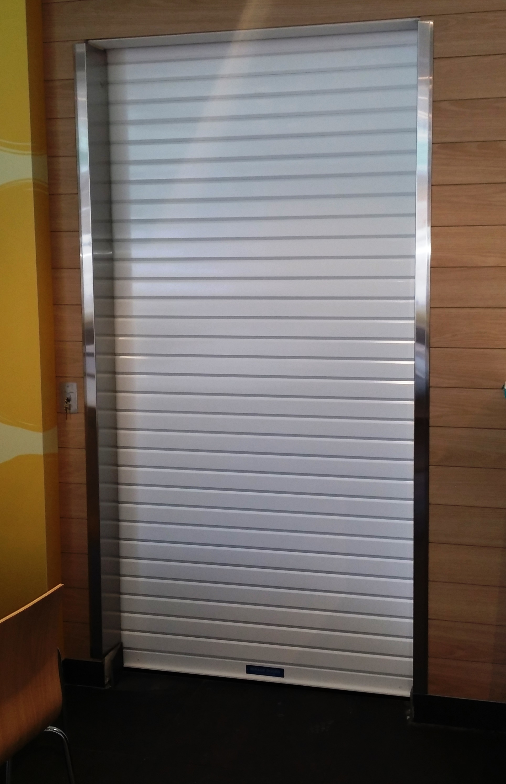 Aluminium Kitchen Roller Doors